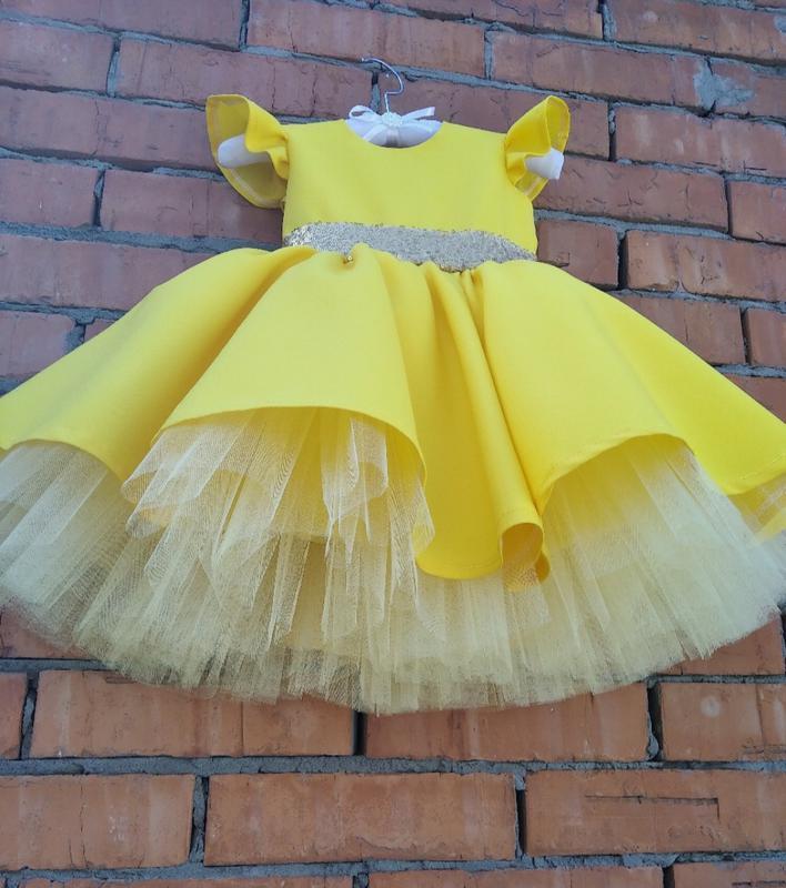 Праздничное нарядное платье для девочек