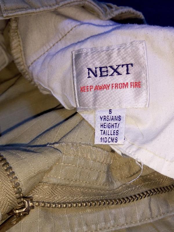 Штаны,брюки хаки для двора.5 лет - Фото 4