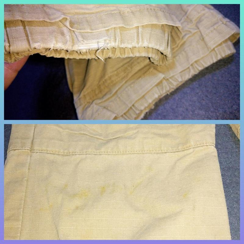 Штаны,брюки хаки для двора.5 лет - Фото 5