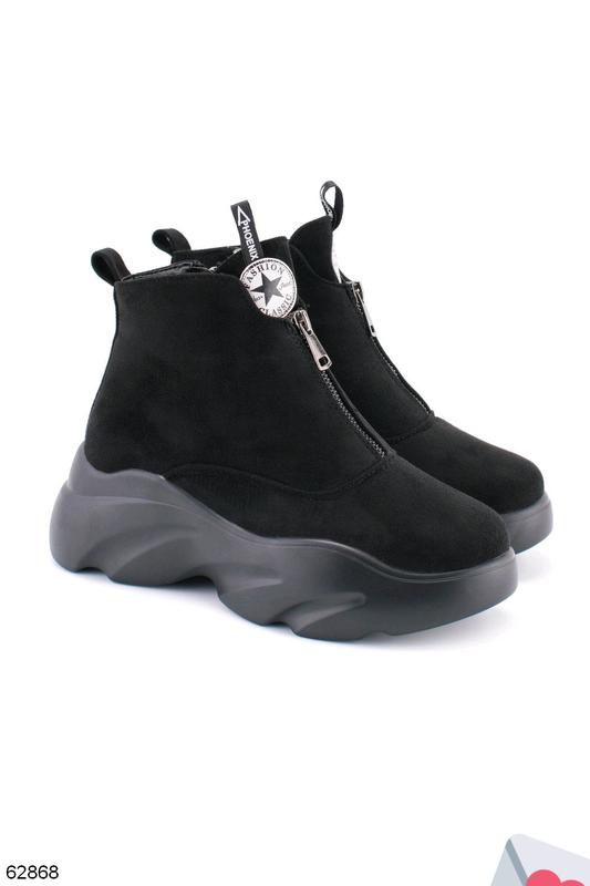 Стильные женские ботинки - Фото 2