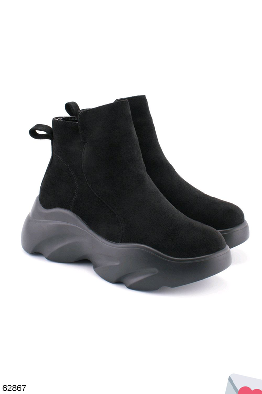 Стильные женские ботинки - Фото 3