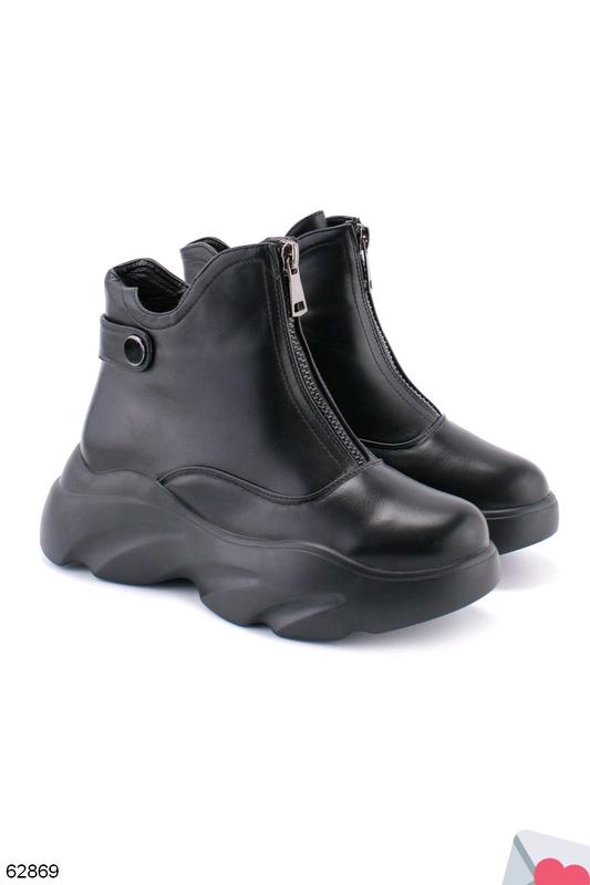Стильные женские ботинки - Фото 6