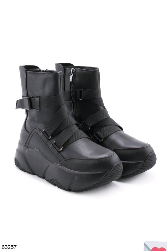 Стильные женские ботинки - Фото 8