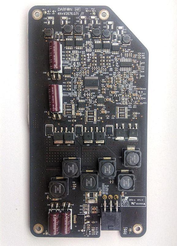 Инвертор LED подсветки матрицы iMac 27 late 2009 V267-601HF A1312