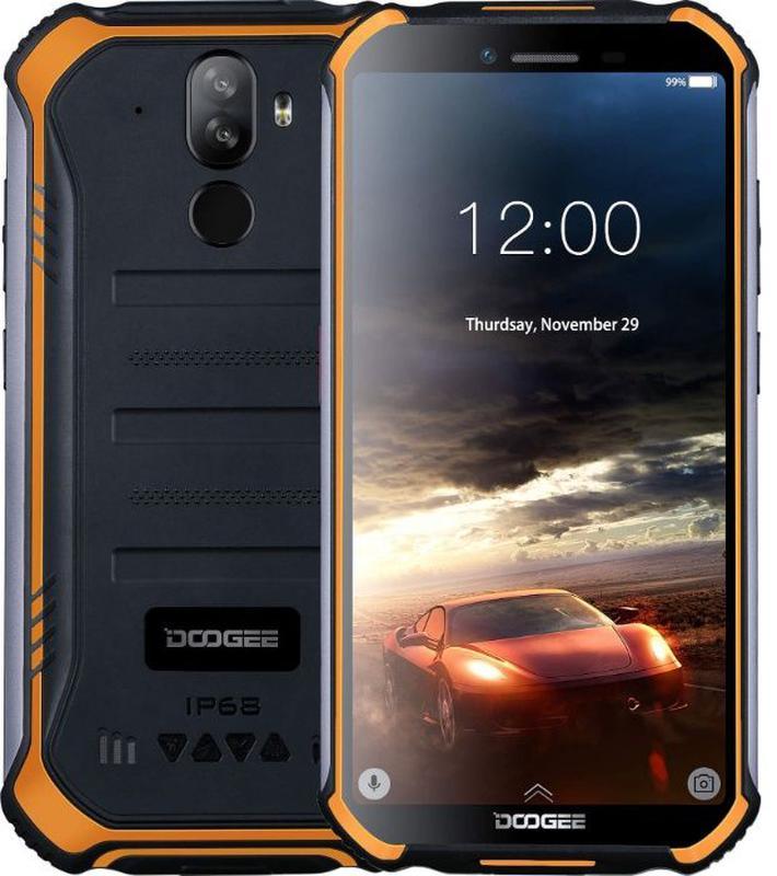 Захищений смартфон Doogee S40 Lite 2/16GB Orange