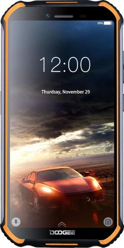 Захищений смартфон Doogee S40 Lite 2/16GB Orange - Фото 2