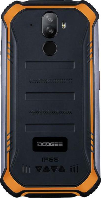 Захищений смартфон Doogee S40 Lite 2/16GB Orange - Фото 3