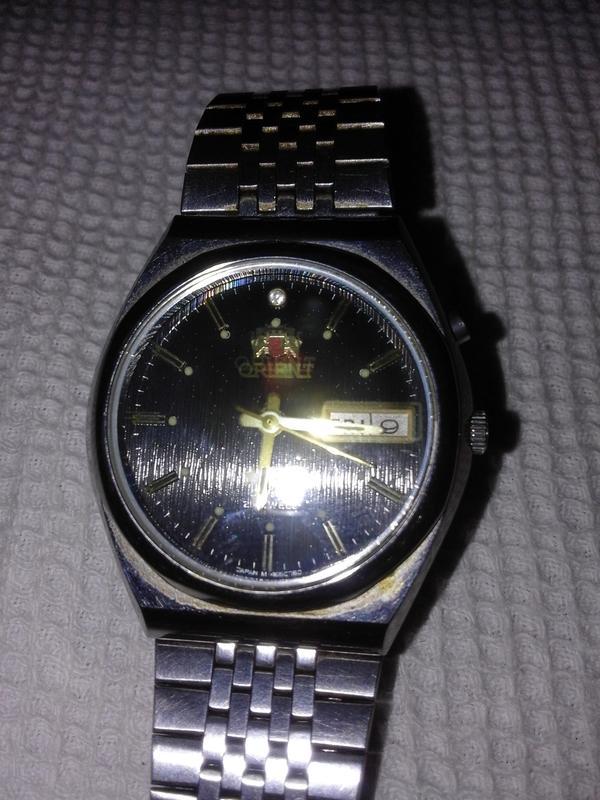 Часы мужские Orient с маятниковым автоподзаводом Япония
