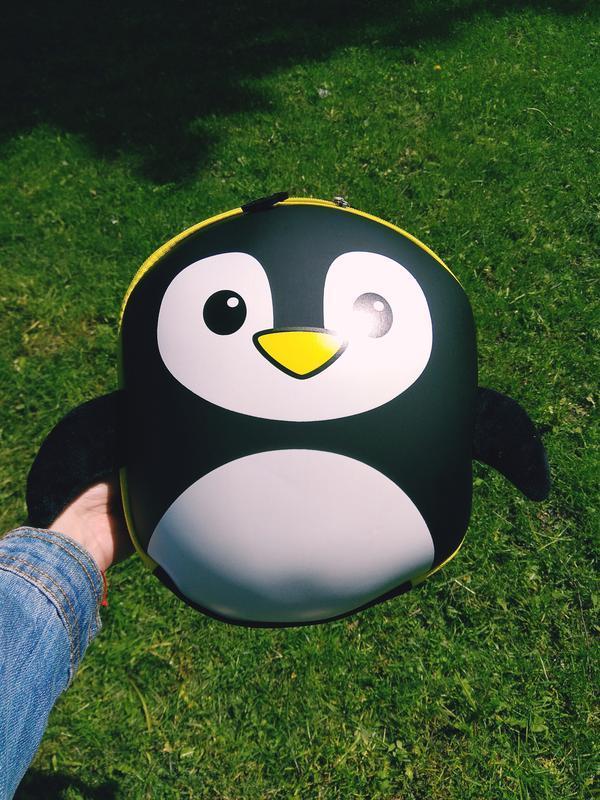 Рюкзак 3d пінгвін пингвин