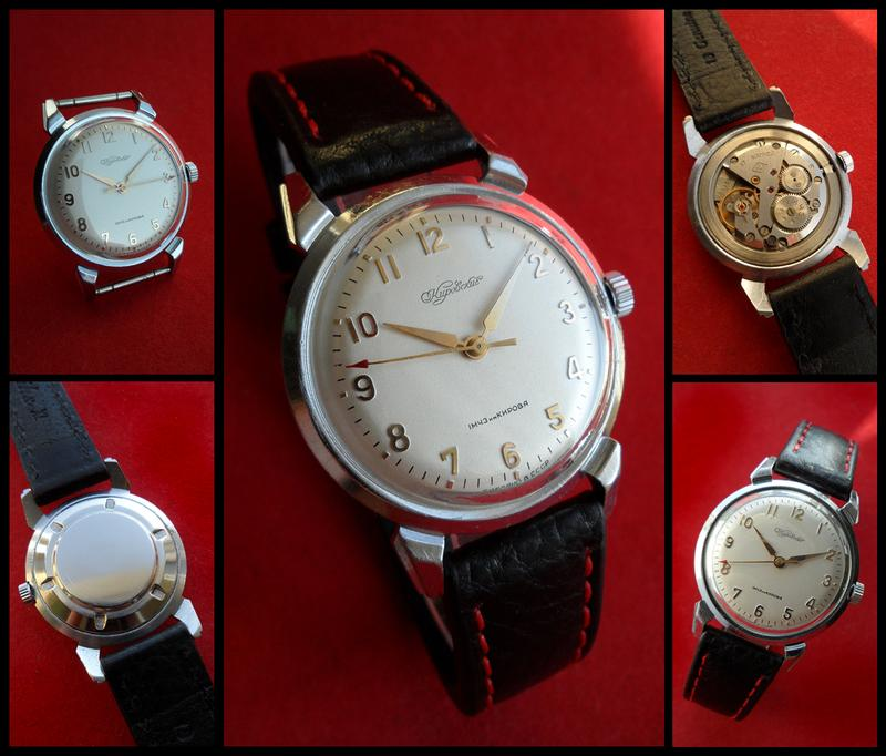 «КИРОВСКИЕ-2409» ссср 60-х., часы с коллекции, МУЖСКИЕ, МЕХАНИКА.