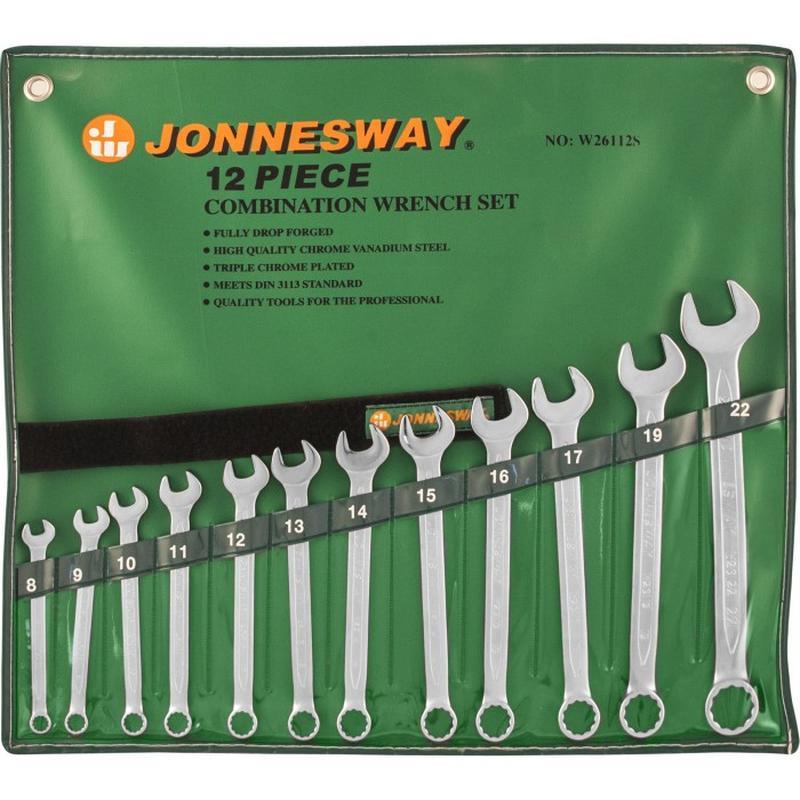 Набор ключей комбинированных 8-22мм, 12 предметов