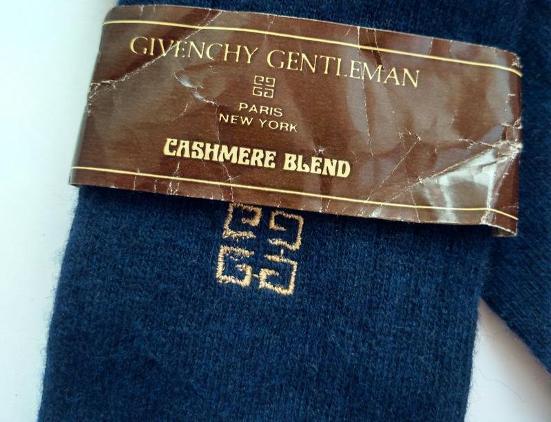 Люксовые мужские кашемировые носки от givenchy (оригинал)  10-... - Фото 2