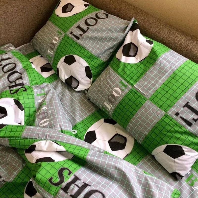 Комплект постельного бель футбол - Фото 2