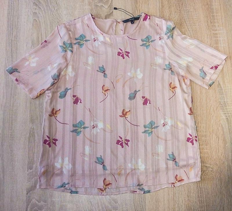 Легкая шифоновая блузка vero moda