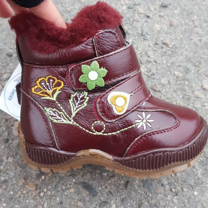Кожаные сапоги lilin shoes  р.22-25