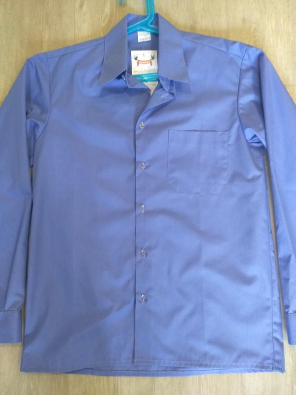 Рубашка для мальчика, школьная рубашка - Фото 2