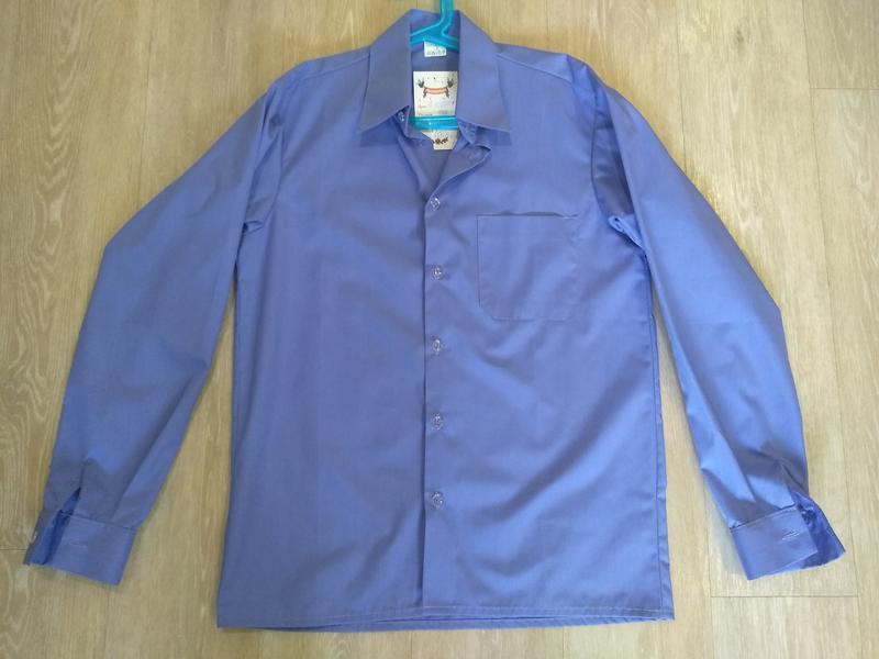 Рубашка для мальчика, школьная рубашка - Фото 3