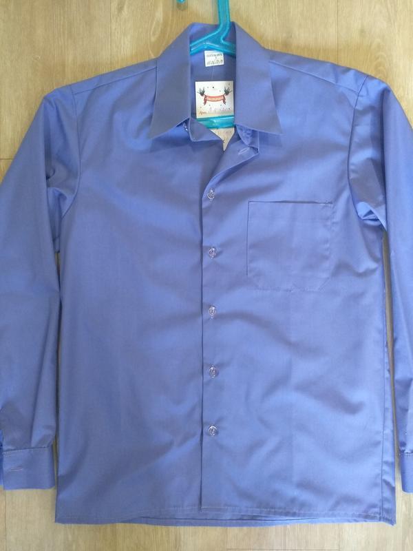 Рубашка для мальчика, школьная рубашка - Фото 5