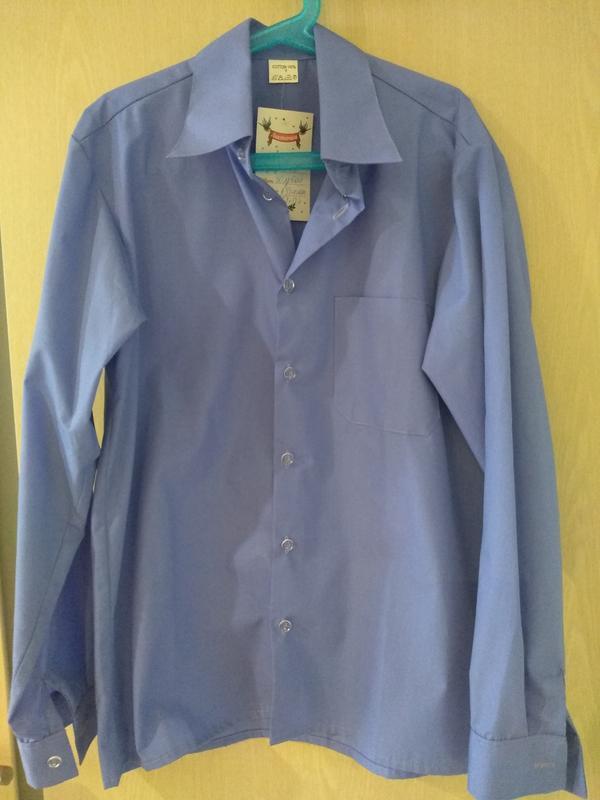 Рубашка для мальчика, школьная рубашка - Фото 7