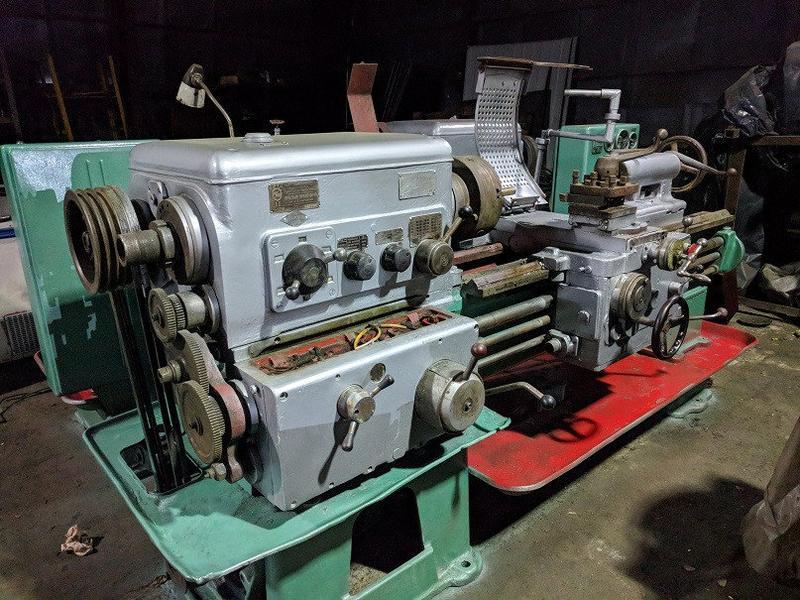 станок токарный в отличном рабочем состоянии после ревизии
