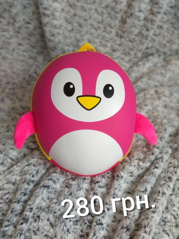 Уцінка! рюкзак 3dрюкзак пінгвін пингвин