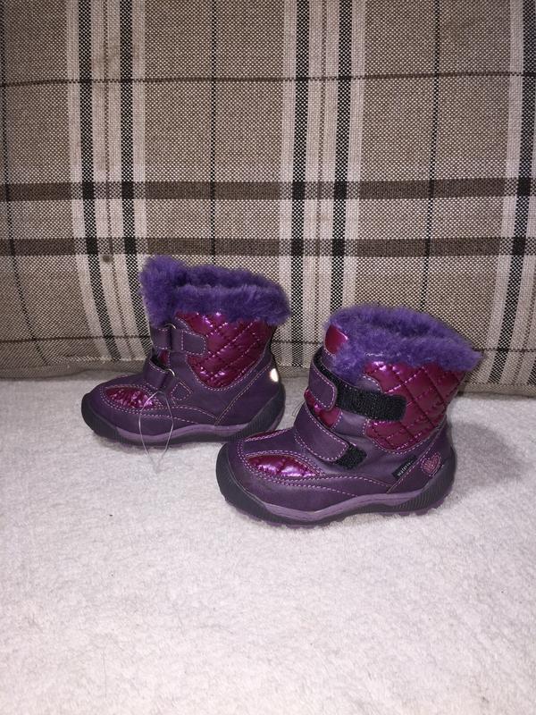 ❄️мембранные термо ботинки ботинки funny kids shock watertex, ...