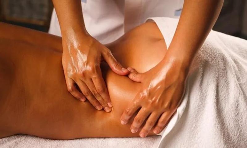 Антистресс массаж всего тела