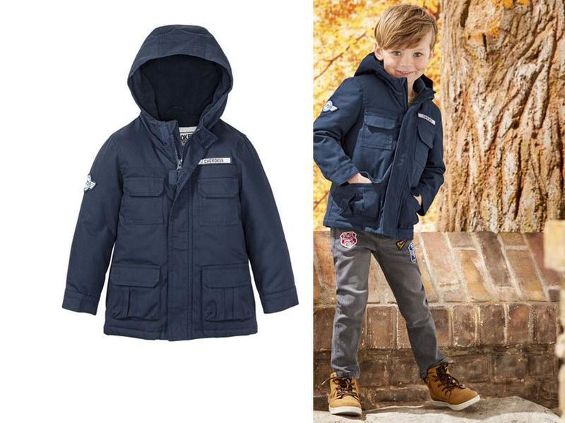 Куртка, парка демисезон 92, 1,5-2 года, lupilu, германия