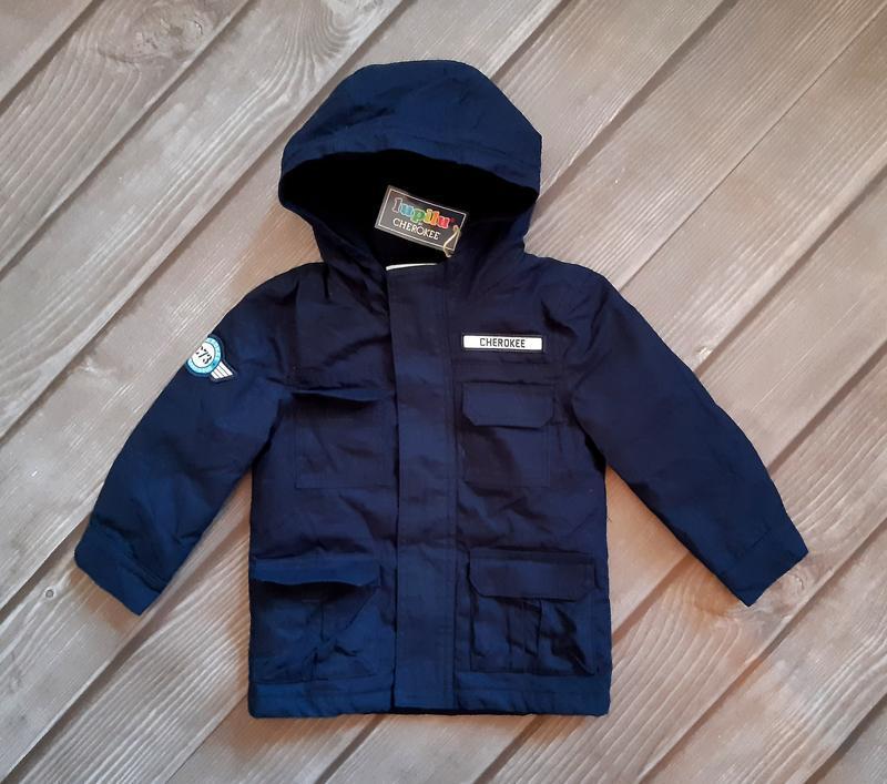 Куртка, парка демисезон 92, 1,5-2 года, lupilu, германия - Фото 4