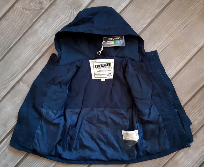 Куртка, парка демисезон 92, 1,5-2 года, lupilu, германия - Фото 5