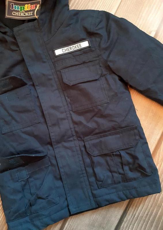 Куртка, парка демисезон 92, 1,5-2 года, lupilu, германия - Фото 7