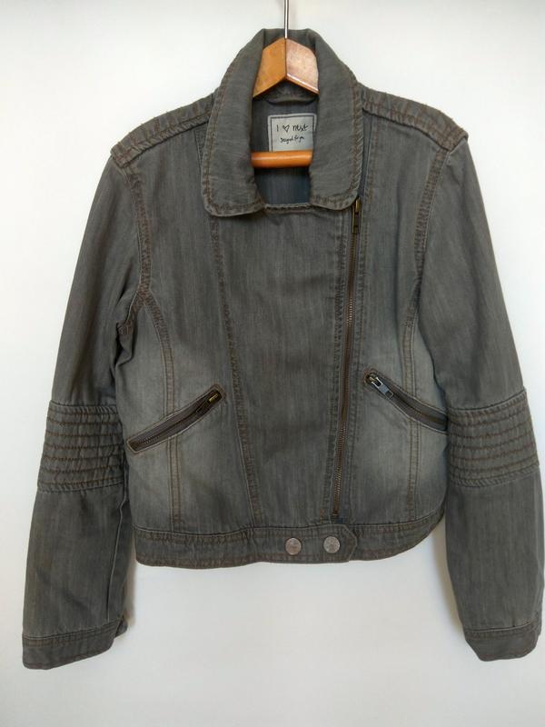 Распродажа!!! стильный джинсовый пиджак next - Фото 2