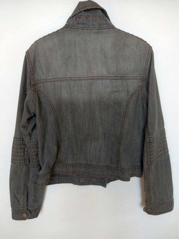 Распродажа!!! стильный джинсовый пиджак next - Фото 3