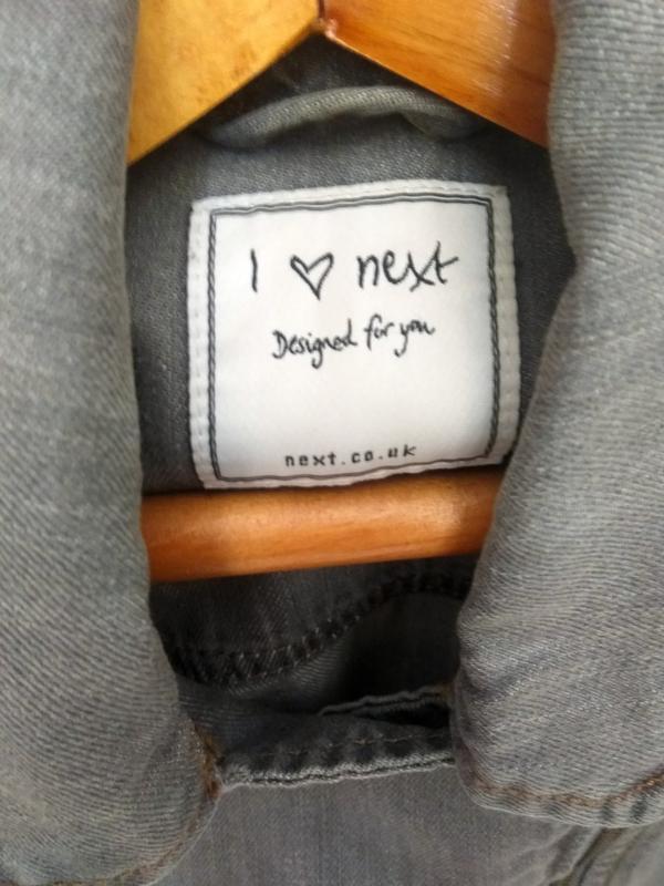 Распродажа!!! стильный джинсовый пиджак next - Фото 4