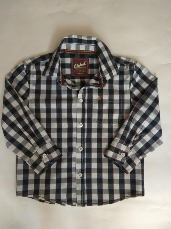 Распродажа!!! шикарная рубашка от rebel by primark