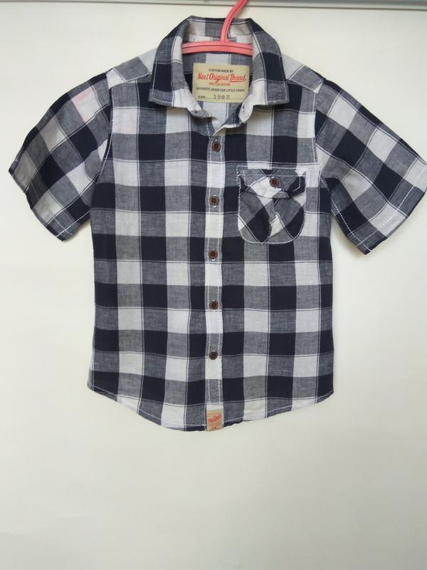 Распродажа!!! рубашка с коротким рукавом от английского бренда...