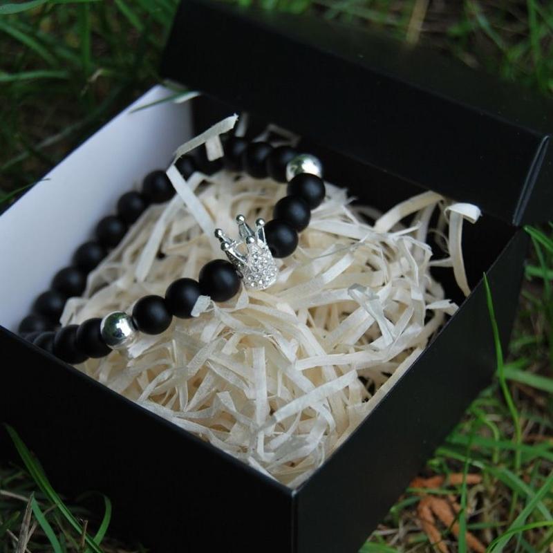 Браслет из натуральных камней - Фото 2