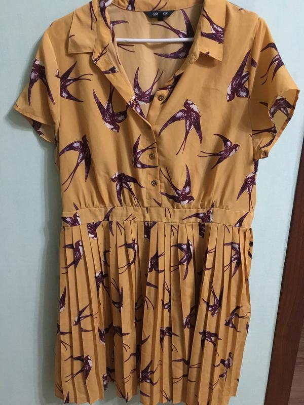 Оригинальное платье papaya