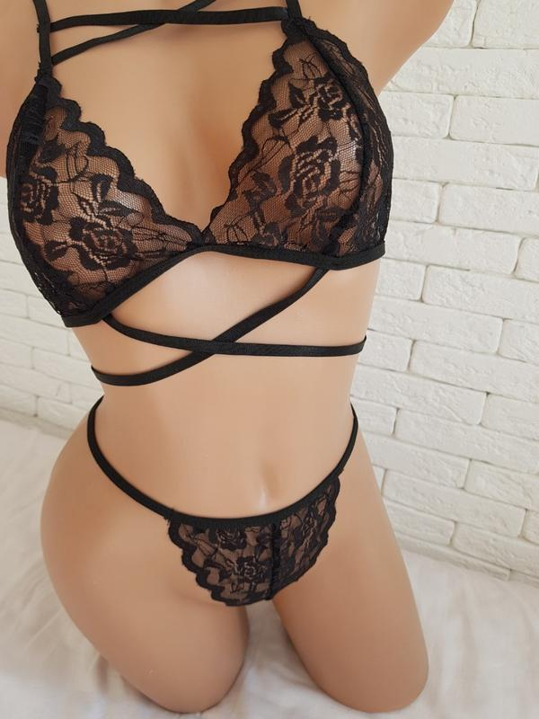 Эротический женский набор🍓 сексульный ажурный набор - Фото 2