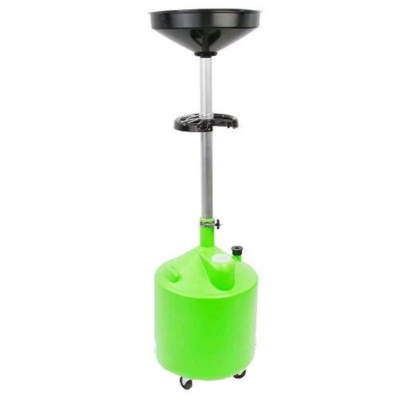 Установка для слива масла пластиковая (75 л) G.I.KRAFT
