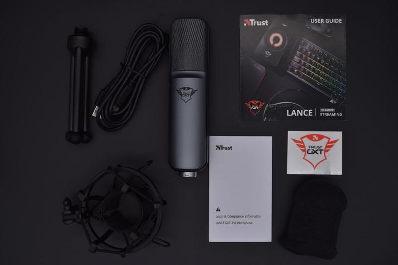 Конденсаторный USB Микрофон + Поп-фильтр ( Набор музыканта )