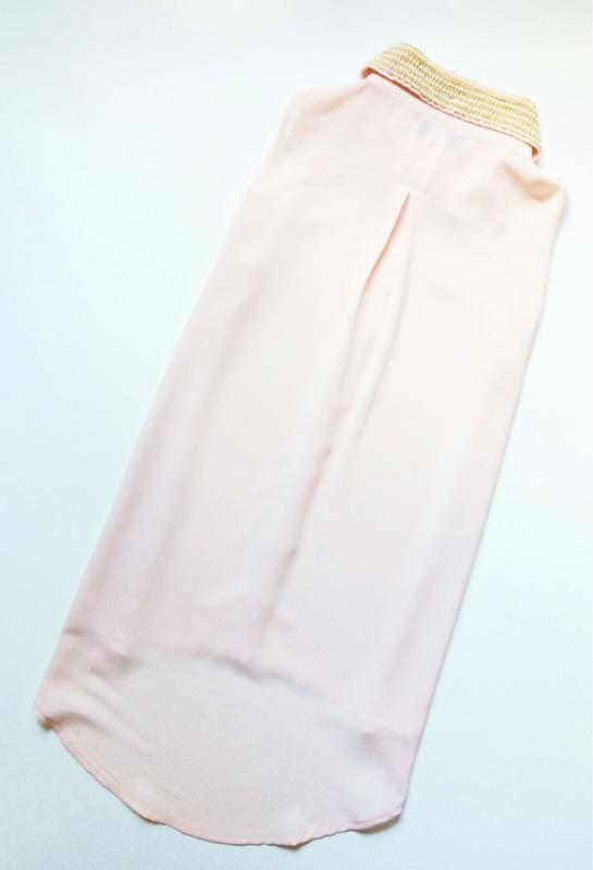 Lipsy блуза с расшитым воротничком - Фото 4