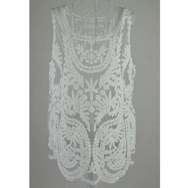 Блуза с вышивкой - Фото 2