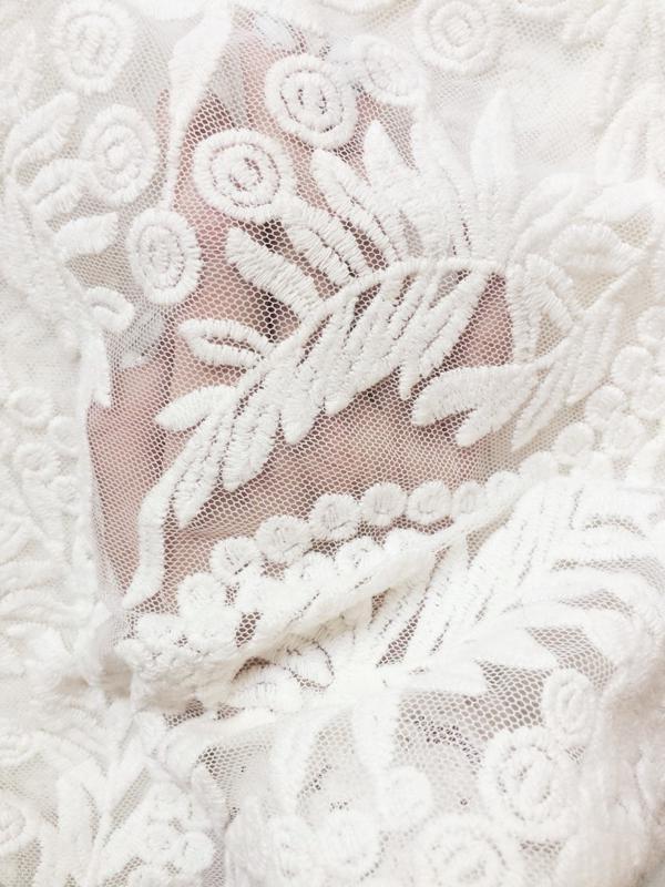 Блуза с вышивкой - Фото 4