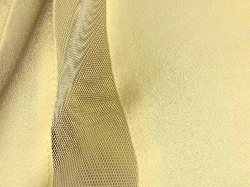Warehouse блуза с прозрачными деталями - Фото 4
