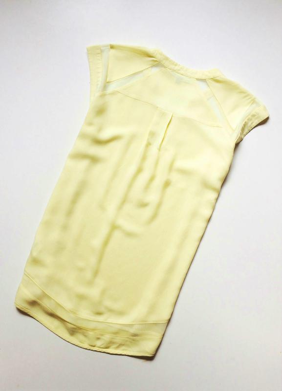 Warehouse блуза с прозрачными деталями - Фото 5