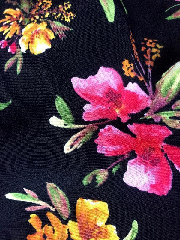 Zara платье в цветочный принт - Фото 6