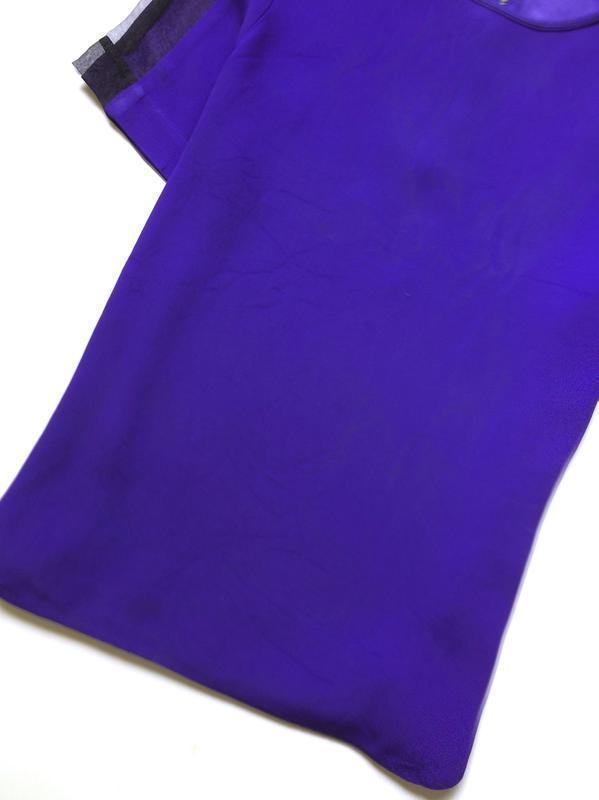 Zara блуза с прозрачными деталями на рукавах - Фото 6