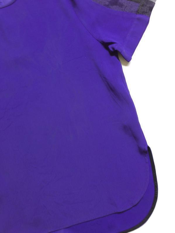 Zara блуза с прозрачными деталями на рукавах - Фото 7