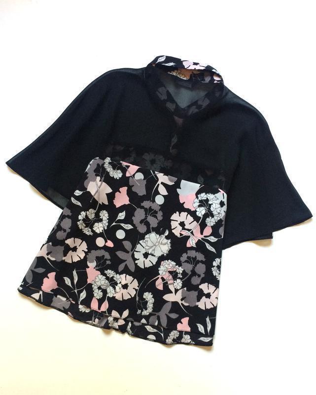Miss selfridge блуза в цветочный принт - Фото 5